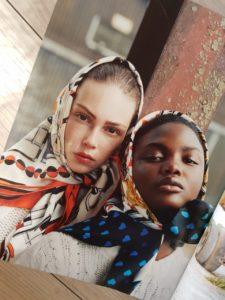 Tatler Magazine Sept 2018 Headscarf