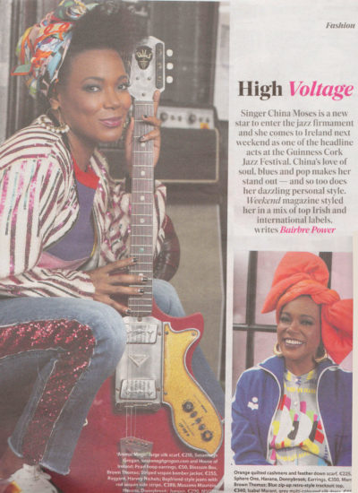 High Voltage | China Moses | Indo Mag