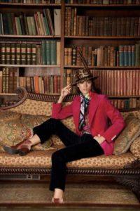Irish Times Magazine Fashion Deirdre McQuillan Roxanne Parker Daniel Holfield Susannagh Grogan Scarves Anthony Pelo Hats