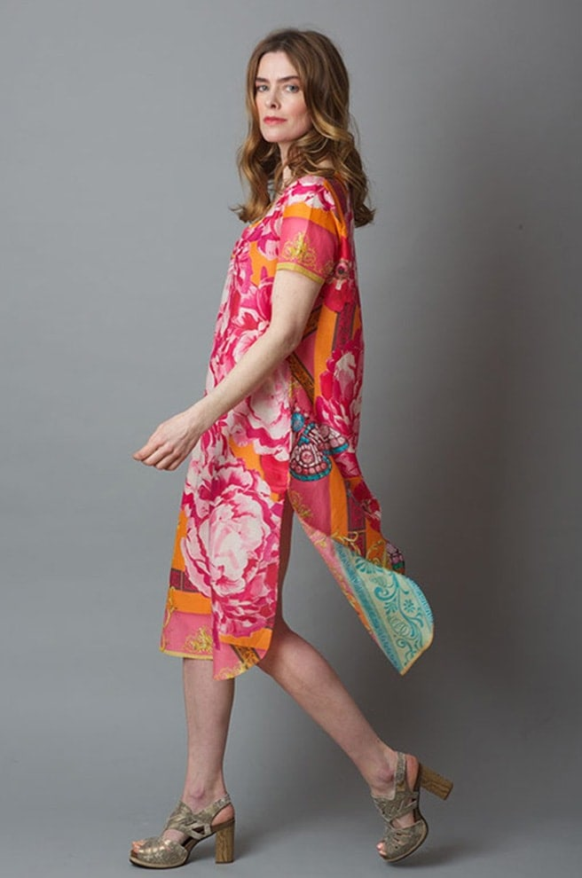 Susannagh Grogan SS19 Carnival print tunic dress