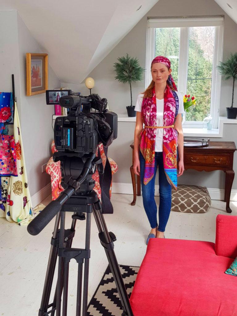 Susannagh Grogan Print Design Studio SS19 Xpose TV Virgin media