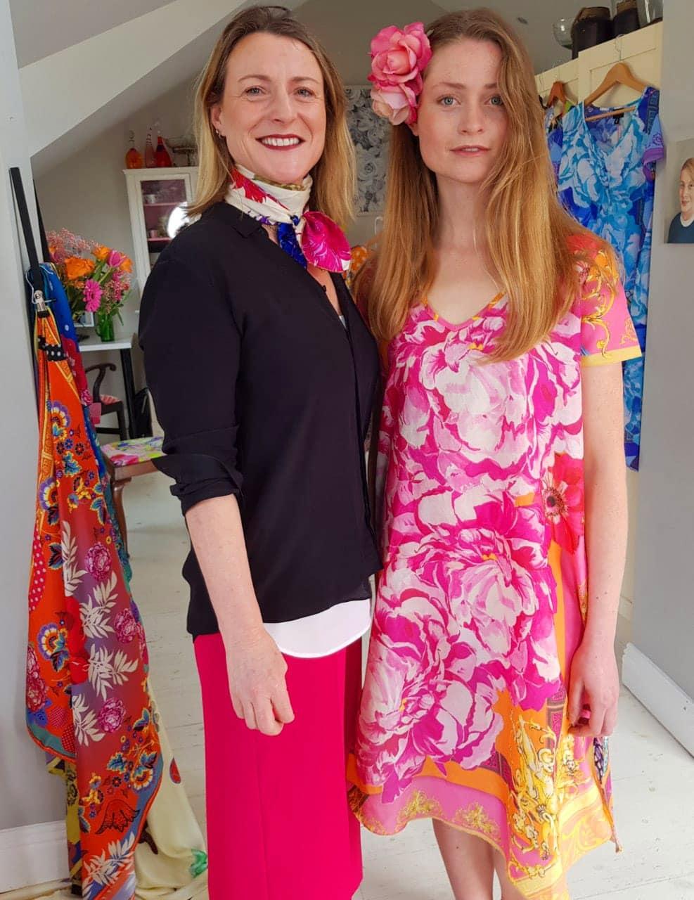 Susannagh Grogan & Aisling Reddin Print Design Studio SS19 Xpose TV Virgin media