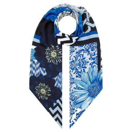 Irish designer Susannagh Grogan long silk scarf