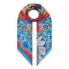 XL 'Floral Kaleidoscope' Scarf