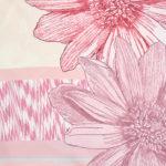 Susannagh Grogan Pink Trellis Classic Silk Square