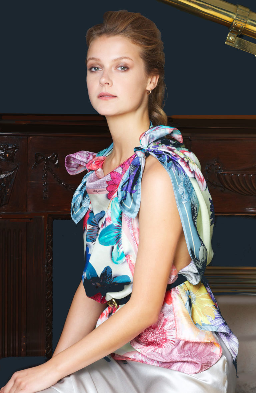Susannagh Grogan Classic silk scarf