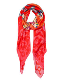 Love XL Scarf | Red + Pink