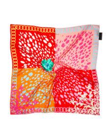'Baroque Spots' Classic Silk Scarf