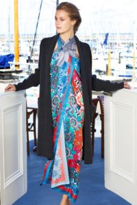 Susannagh Grogan X Madigan XL kaliedescope silk scarf