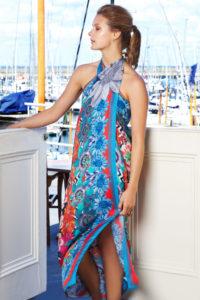 Susannagh Grogan Kaleidoscope Silk Scarf