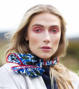 Susannagh Grogan Scarves | Curúil or Brave scarf