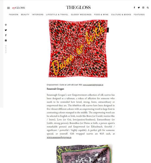 Luxury Scarves by Irish Designers | The Gloss