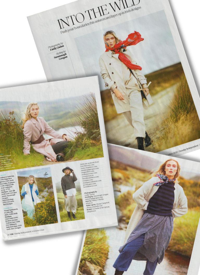 Styling Work | Sunday Independent LIFE Magazine