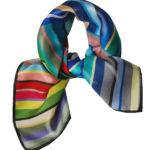 Susannagh Grogan Stripe ladybug scarf