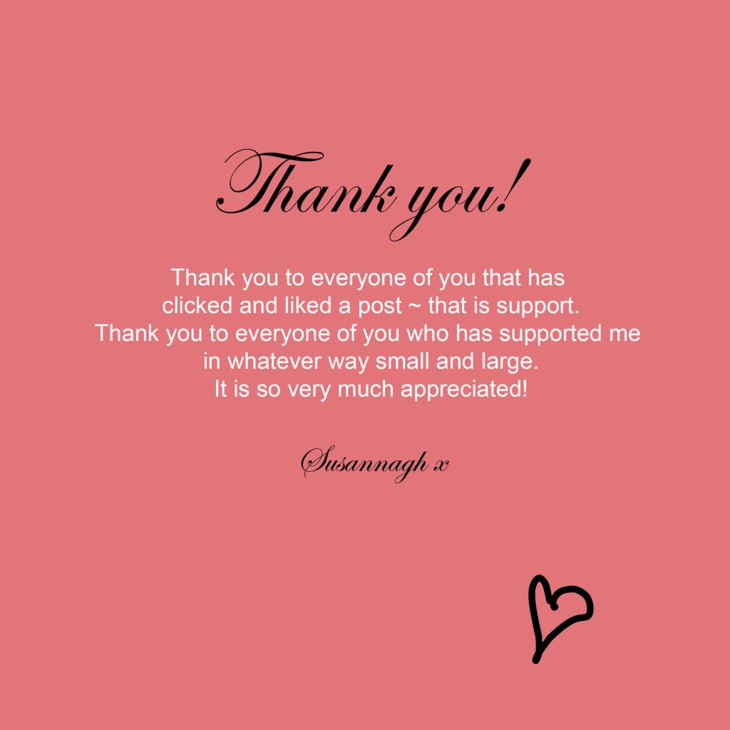 Thank you Susannagh Grogan