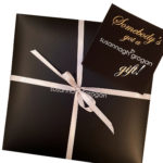 Gift wrapped christmas set