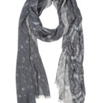 Susannagh Grogan Grey long scarf