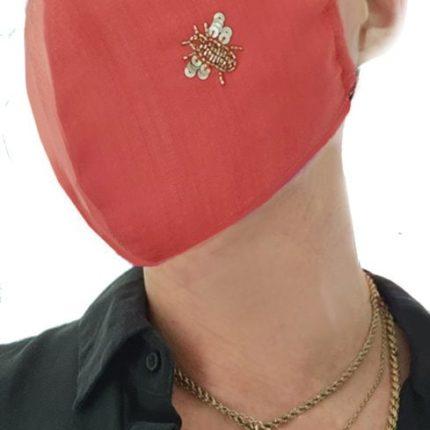 Irish Designer Coral Bee facemask Susannagh Grogan